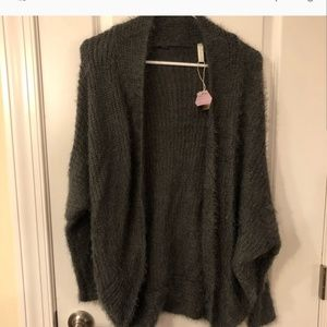 Fluffy soft sweater, new never worn, never washed